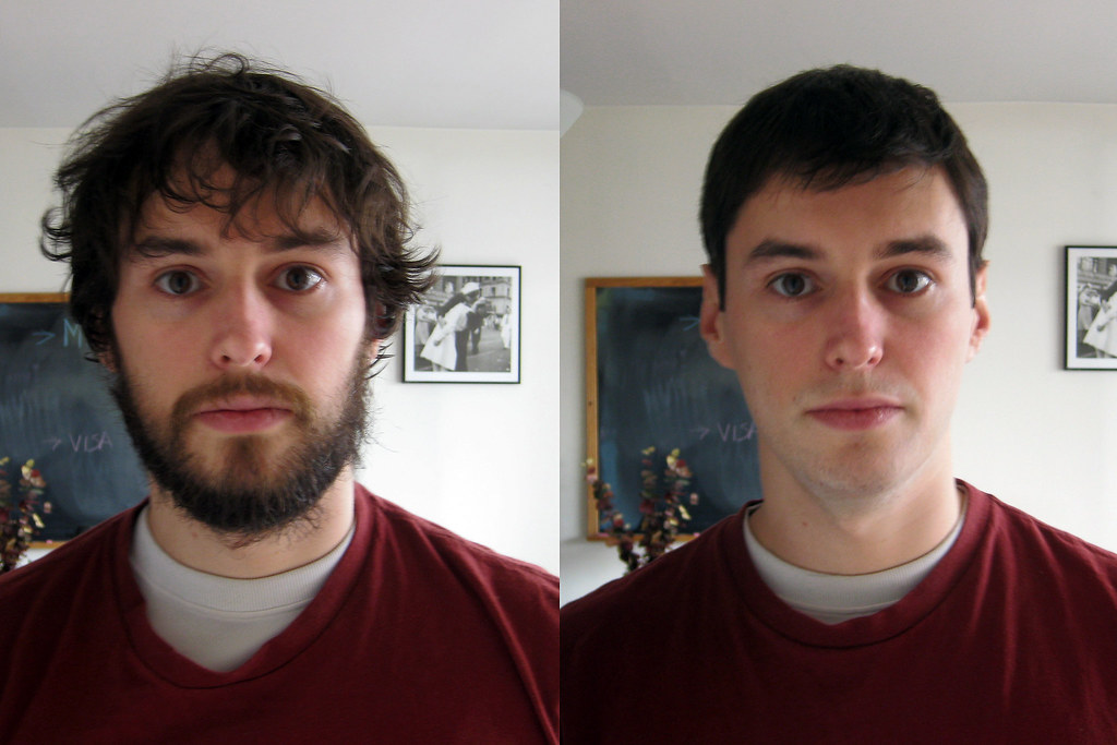 How To Lose Years In Minutes Before After A Shave And