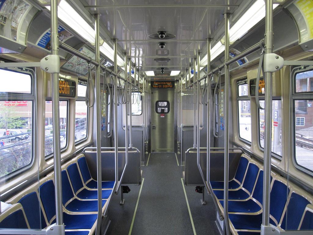 Car 5005 Interior Interior Of Car 5005 Part Of CTAs