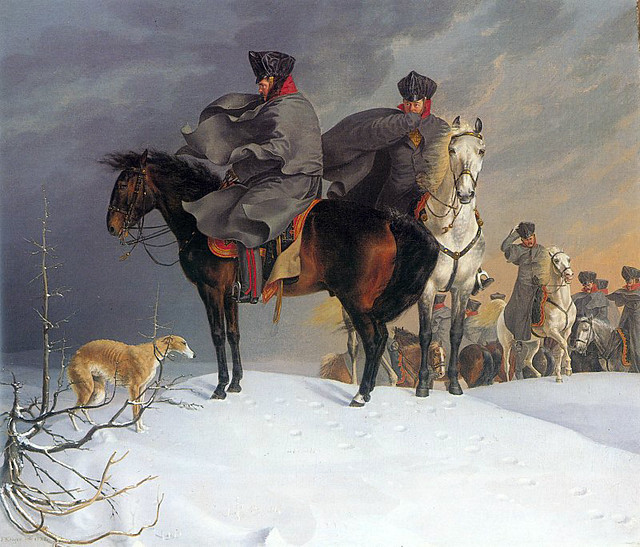 Kruger Franz 1797 1857 1821 Prussian Cavalry Outpost