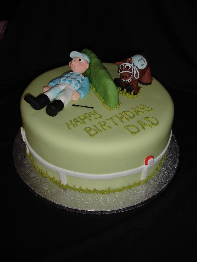 Horse Racing Cake Creative Cakes Notts Uk Find Me On