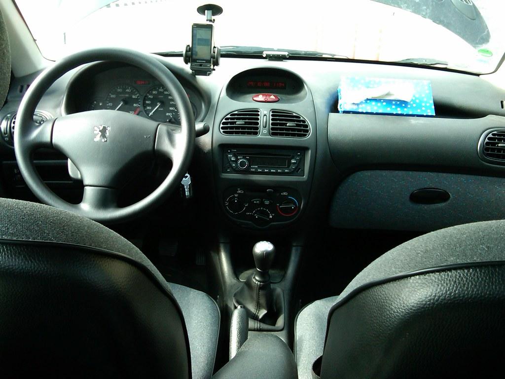 Peugeot 206 Sd Interior My Car Interior Alireza Salehi