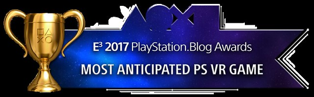 Most Anticipated PS VR Game - Gold