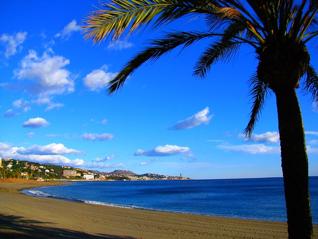 A beach on the Costa del Sol