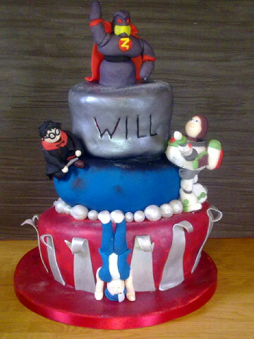 Williams 4th Birthday Cake This Is My Little Boys 4th