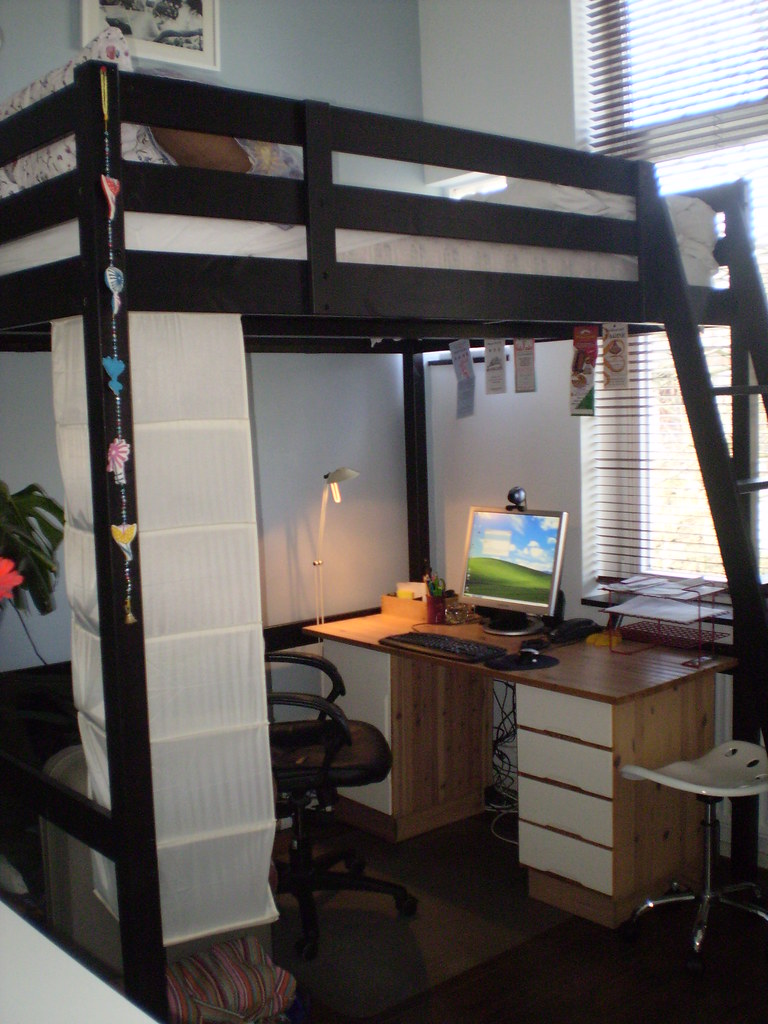 Stora Loft Bed This Loft Bed From Ikea Saves So Much