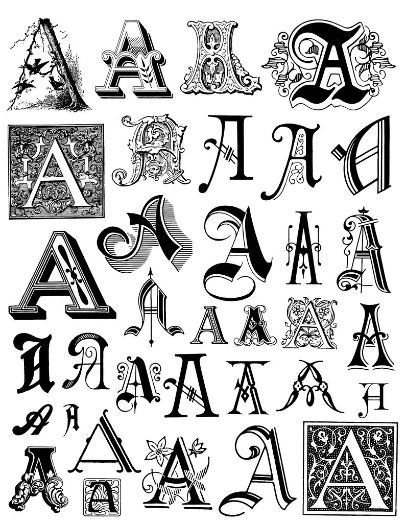 Alphabet 1 This Image Is Free To Use In Your Creative