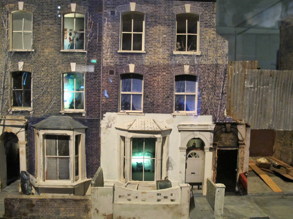The Ghetto Ellingfort Road Hackney A Model Of The