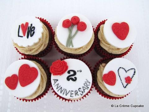 Anniversary Cupcakes Wwwlacremecupcakecom Facebook