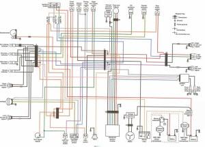 1990 HD FXR Rubber Mount Superglide (EA) wiring diagram | Flickr
