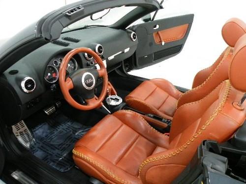 Audi TT Interior Peanut Butter Seats Audi TT Interior