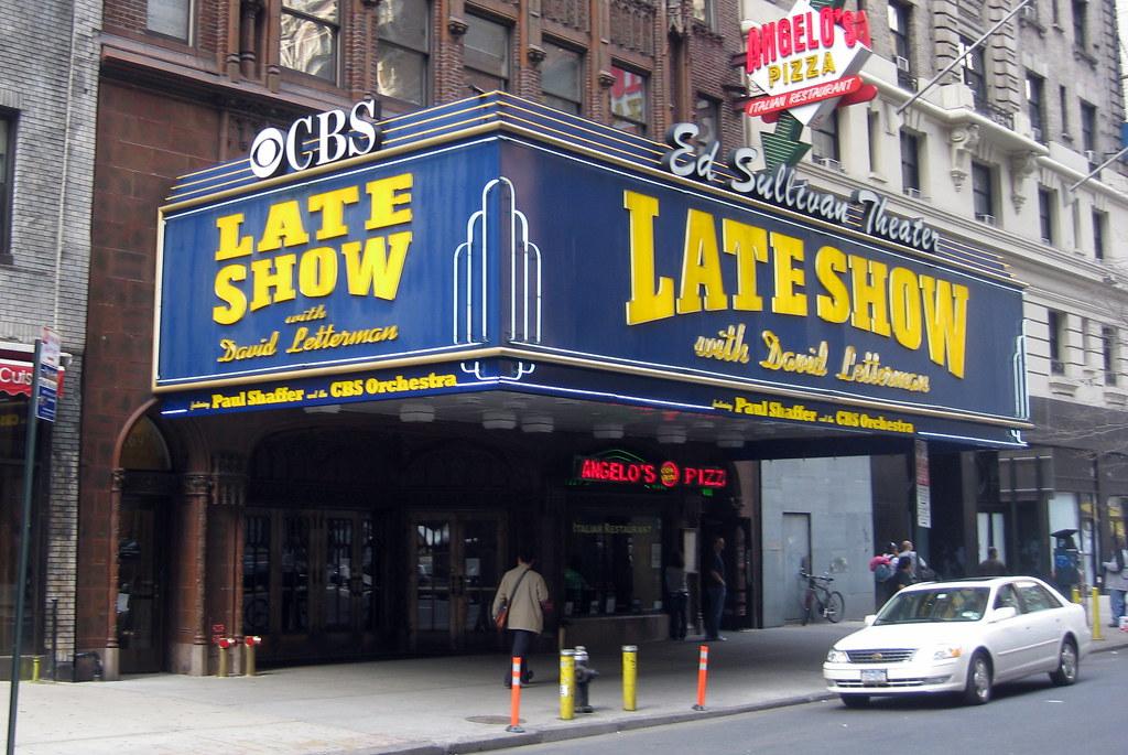 NYC Ed Sullivan Theater The Ed Sullivan Theater