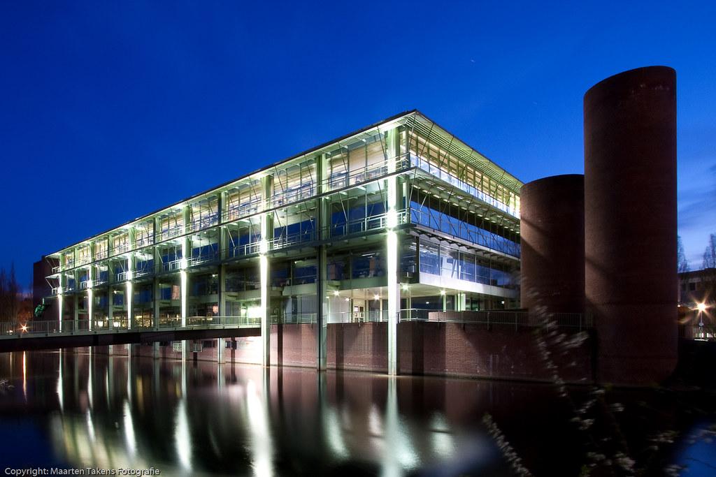 Neues Rathaus In Bocholt Zur Blauen Stunde Das Neue