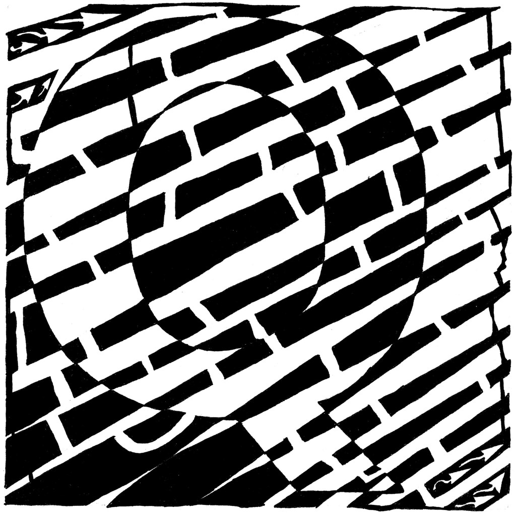 Maze Of Uppercase Q Yonatan Frimer