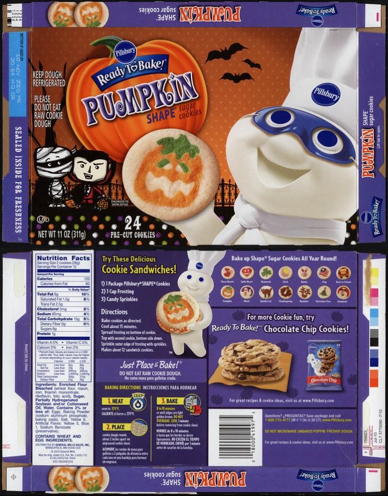 pillsbury halloween cookies. pillsbury ready to bake big deluxe