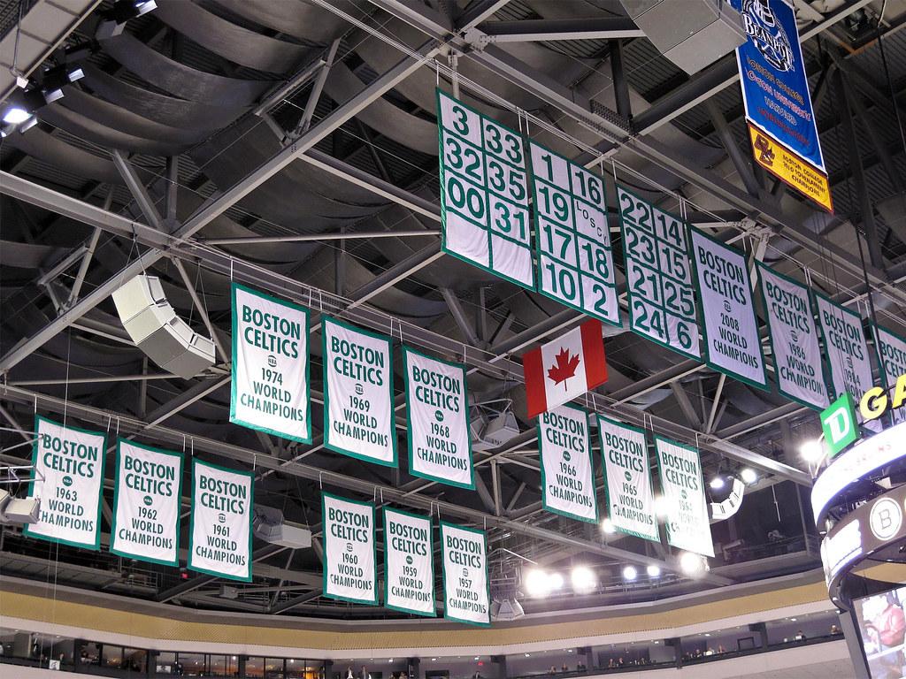 Boston Celtics Banners The Boston Celtics Championship