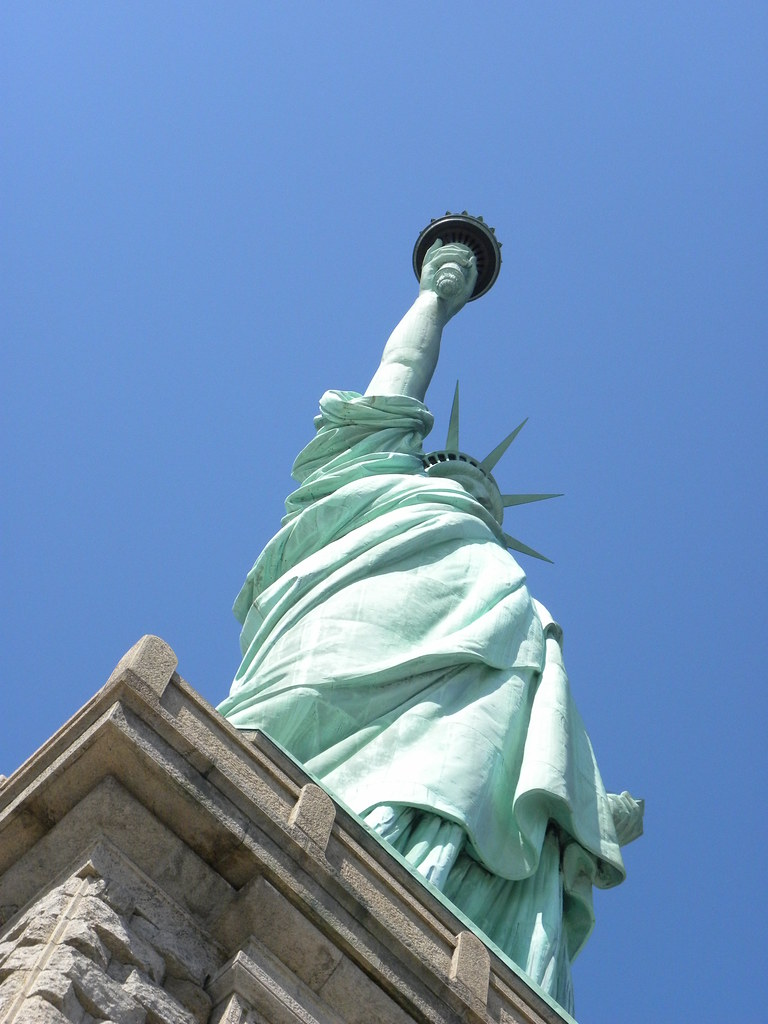 From The Statue Of Liberty Observation Deck Slgckgc Flickr