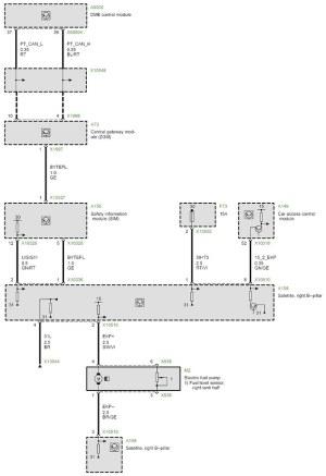 E66  fuel pump wiring diagram | E65E66 up to production