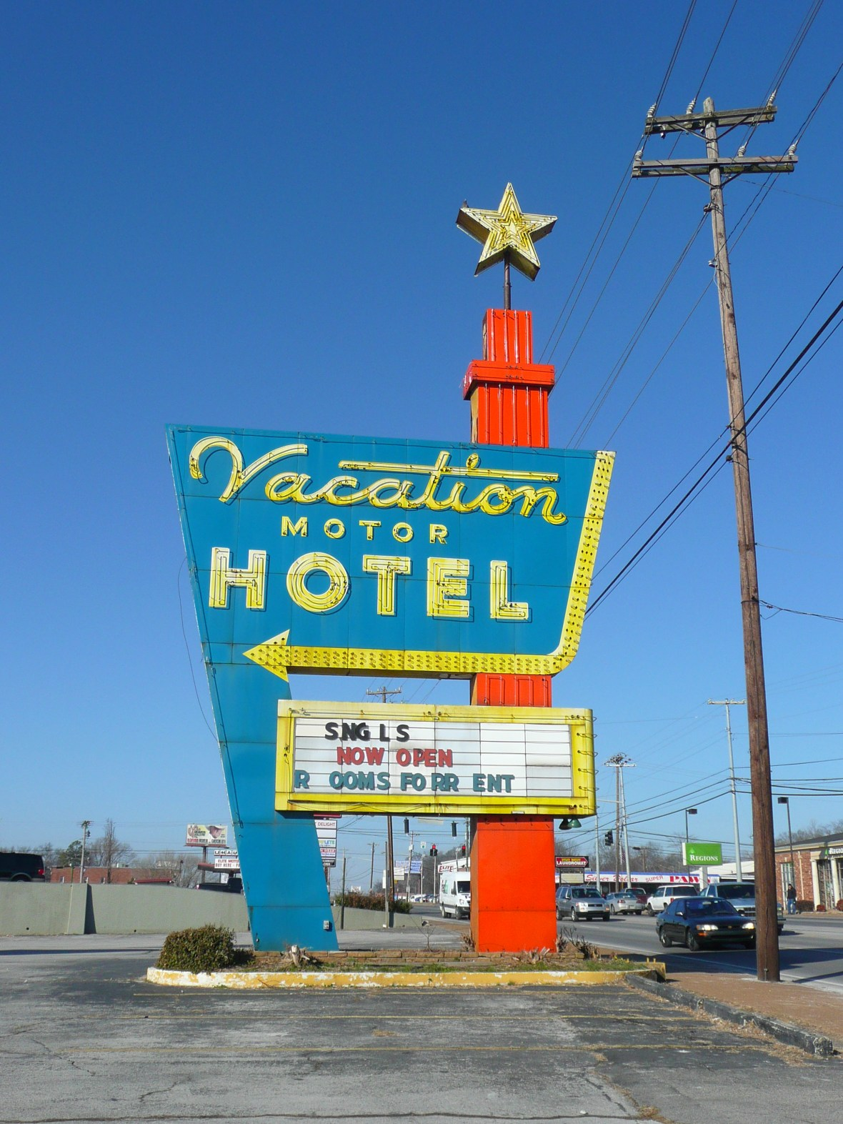 Vacation Motor Hotel - 650 Providence Boulevard, Clarksville, Tennessee U.S.A. - January 13, 2010