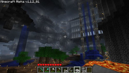 Frogpastes Giant Minecraft Cave Um Wow Paulo O Flickr