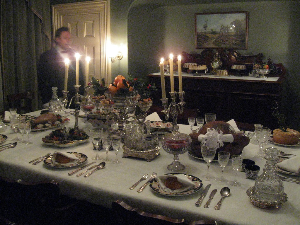 Victorian Table Setting Sir George 201 Tienne Cartier