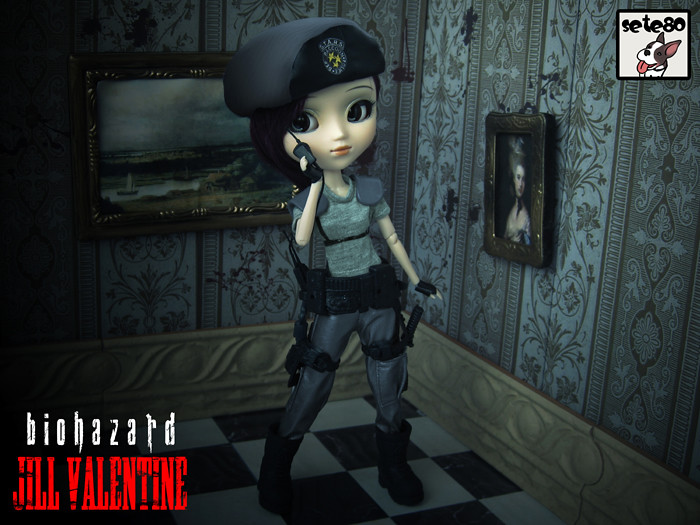 Jill Valentine Resident Evil 1 The Mansion Seems To