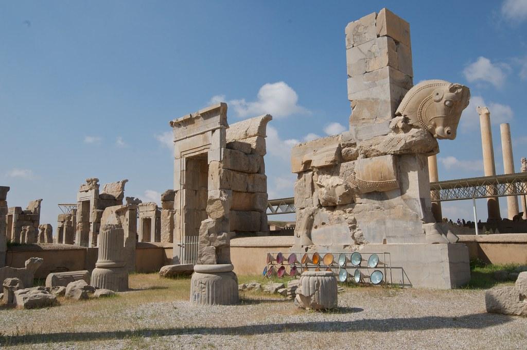 Ancient Egyptian Pillars