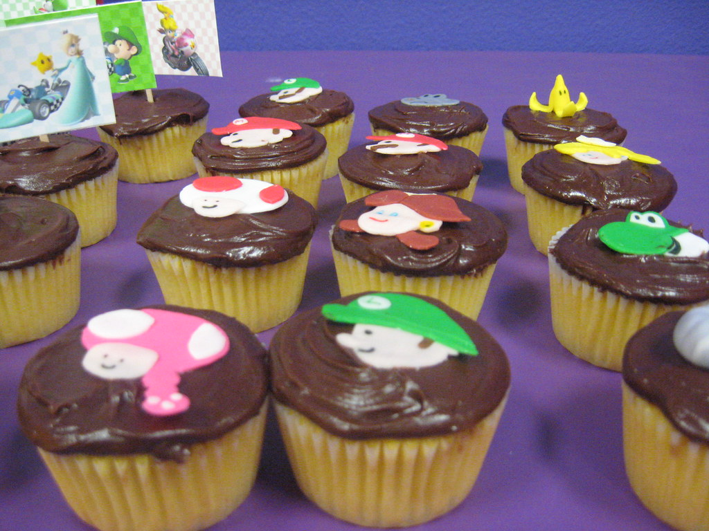 These Mario Kart Cupcakes Were Made