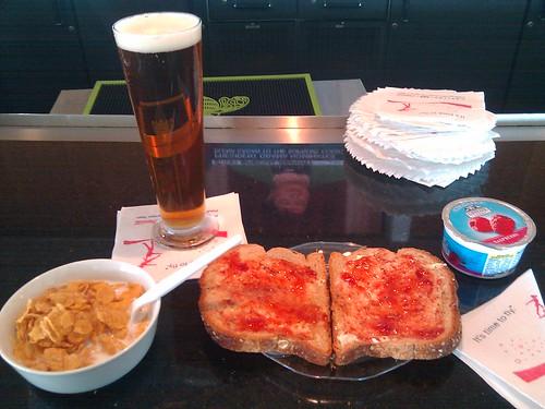 Breakfast at JFK