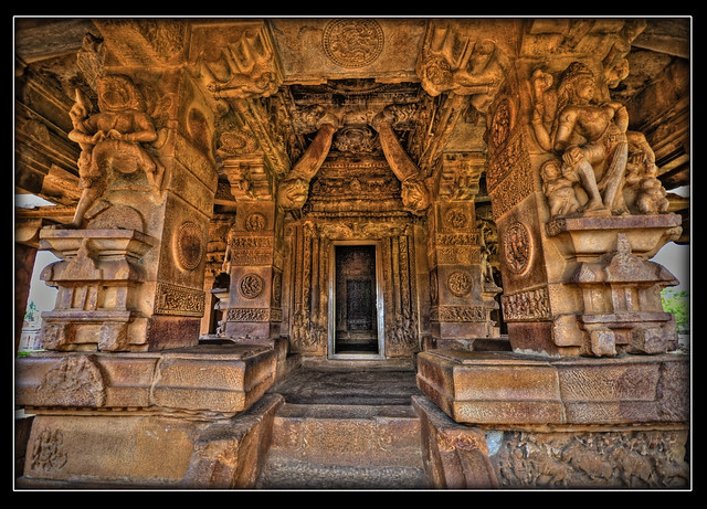 Interiors Durga Temple Aihole Flickr Photo Sharing