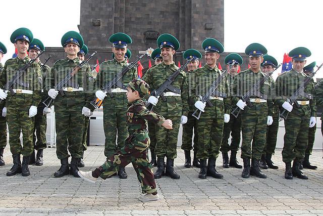 Armenian Military Academy Students Armenian Military
