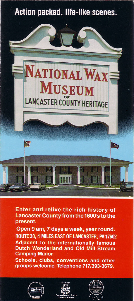 DEFUNCT PENNSYLVANIA National Wax Museum Of Lancaster Cou Flickr