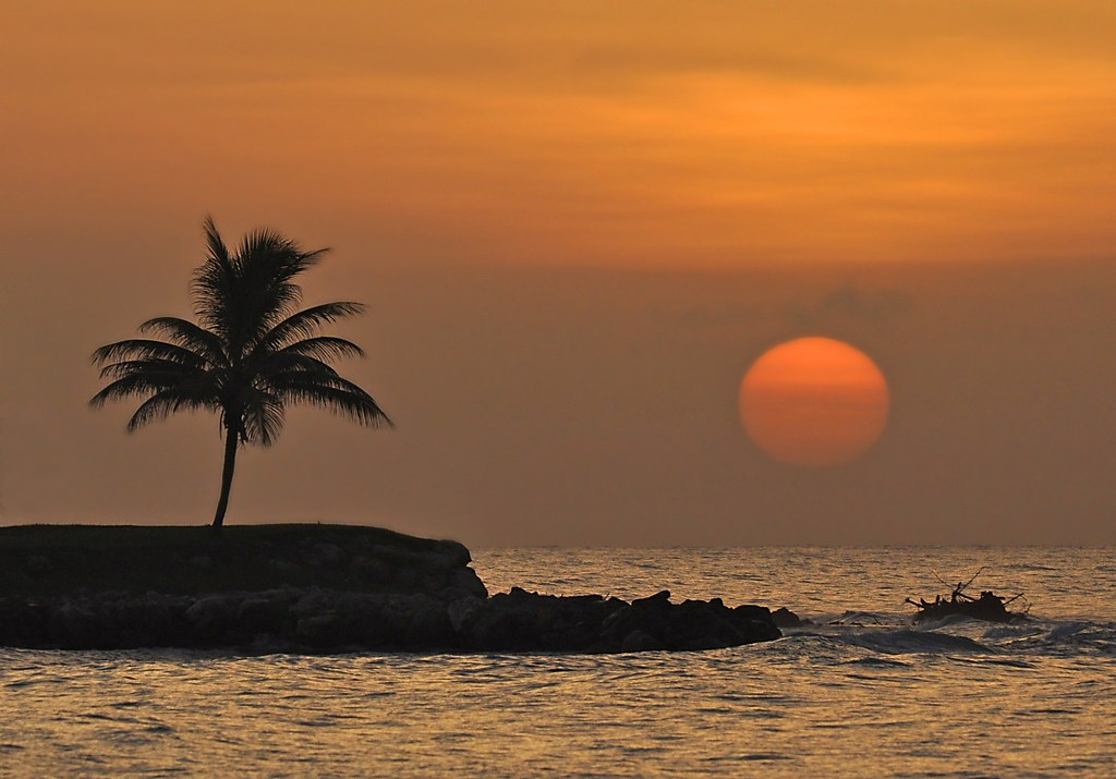 Jamaican Sunset Montego Bay Julie Falk Flickr