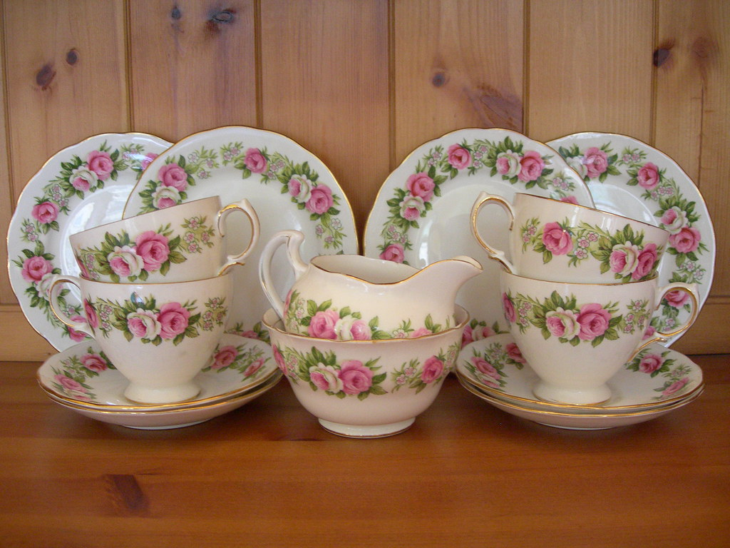 Colclough Bone China Tea Set