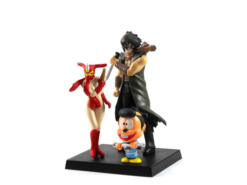 Violence Jack And Kekko Kamen Toy Figures Another