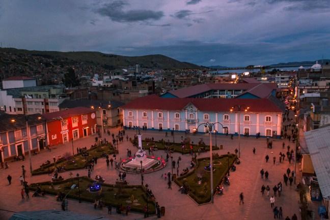 Lake Titicaca Puno City, Puno, Peru