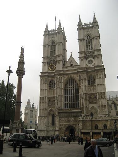 Patrimonio de la Humanidad en Europa y América del Norte. Reino Unido. Abadía de Westminster.