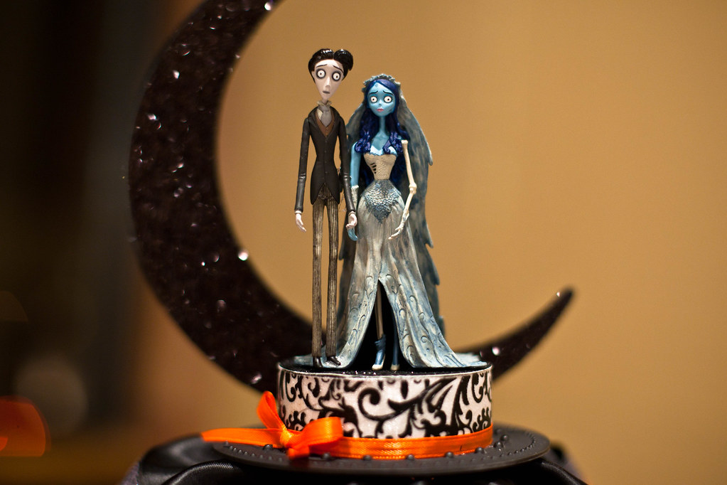 Corpse Bride Cake Topper Joe Lencioni Flickr