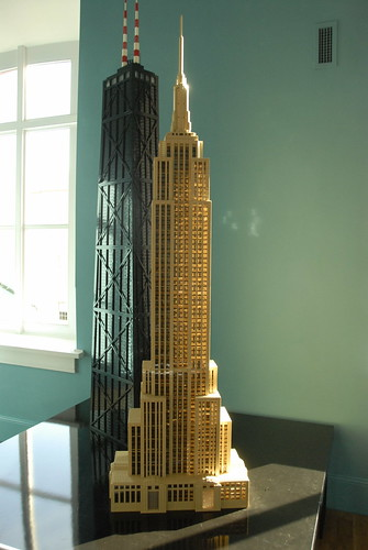 Lego Empire State Building This Tower Is A Replica Of