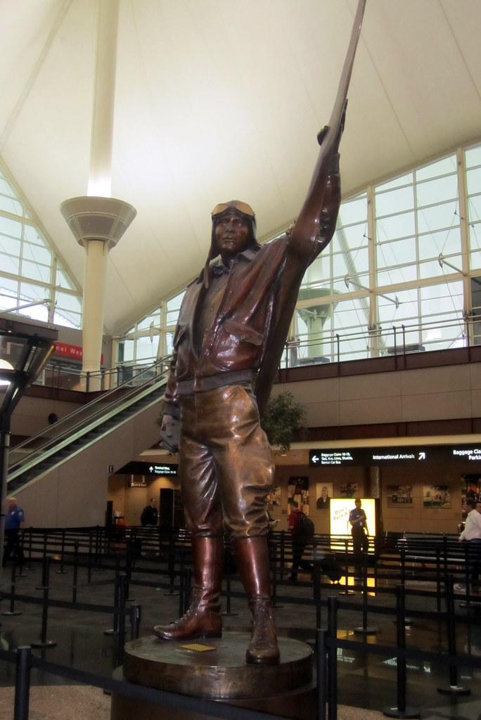 Denver Denver International Airport Elrey B Jeppesen