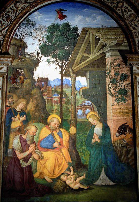 Nativit 224 Pintoricchio Santa Maria Piazza Del Popolo