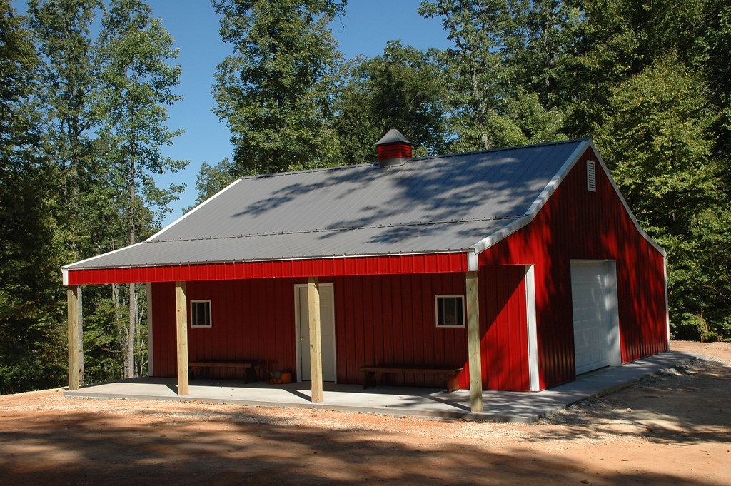 Finished Product The Barn Is Complete With A 10x8 Non