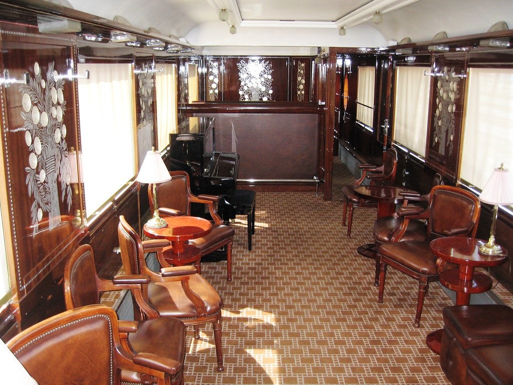 Wagons Lits Carriage Bar Car With Piano The Original