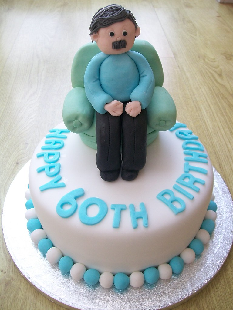 Ideas Birthday Cake 60th Man