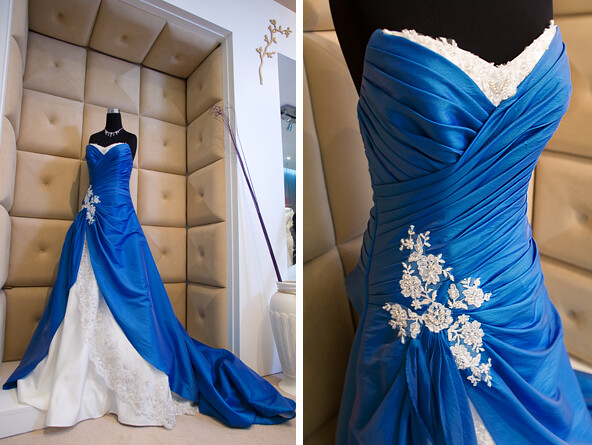 Blue Dress @ Orange Weddings