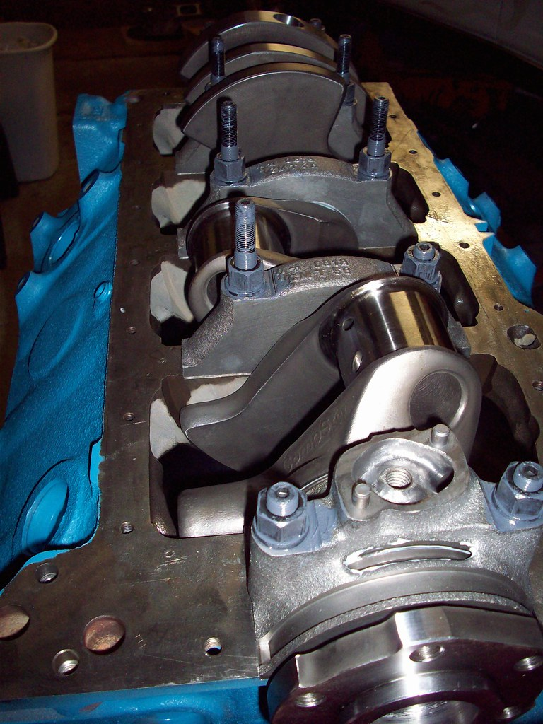 Crank Chevy 350 Journal Size