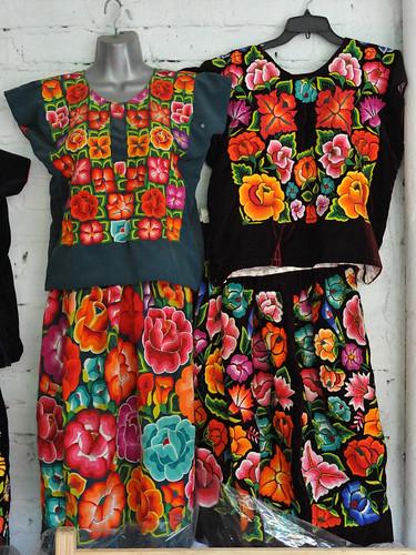 Tehuana Fashions Mexico