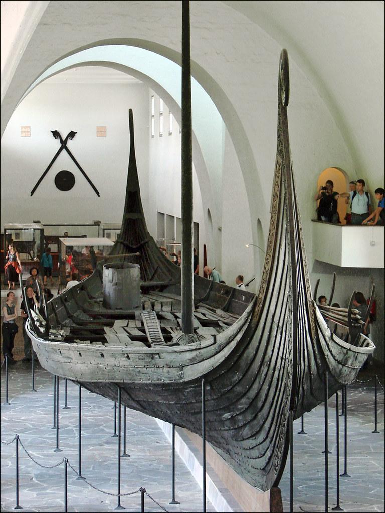 Le Bateau Viking DOseberg Le Bateau DOseberg Dans Le
