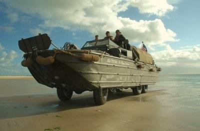 Vlieland - havenstrand - landing DUKW amfibievoertuig | Flickr