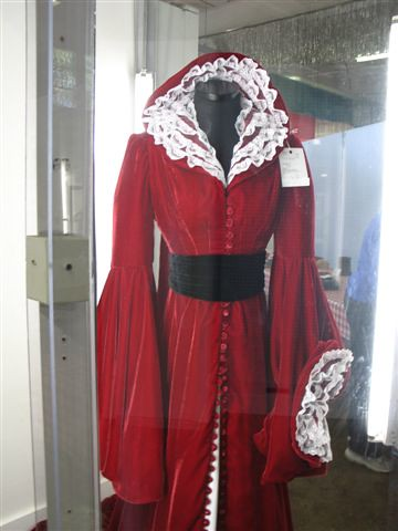 Scarlett OHara Red Staircase Robe Reproduction Made By