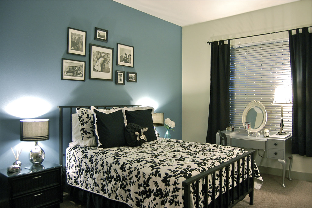 Navy And White Bedroom Ideas